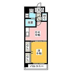 アクアシティ博多サウスステーション[2階]の間取り