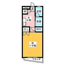Nomura b.l.d[3階]の間取り