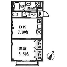 ヴィカーサ・K[102号室号室]の間取り