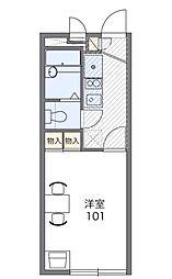 飯山満[1階]の間取り