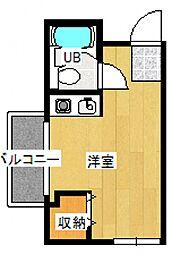 メルスサイトー[9階]の間取り