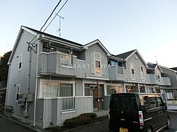 滋賀県大津市苗鹿1丁目の賃貸アパートの外観