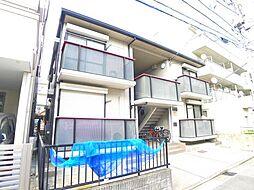 東京都葛飾区お花茶屋3丁目の賃貸アパートの外観