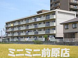 福岡県糸島市前原東2丁目の賃貸マンションの外観