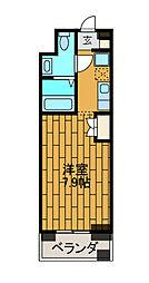 神奈川県川崎市麻生区百合丘2丁目の賃貸マンションの間取り