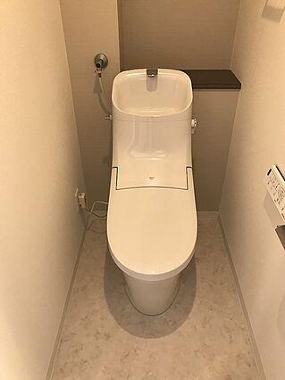 新品のシャワー...