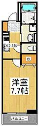 パセオ志木[3階]の間取り