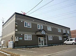 北海道札幌市東区伏古十四条4丁目の賃貸アパートの外観