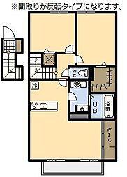 (新築)セジュール・アイII B棟[203号室]の間取り
