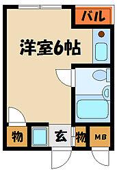 メゾン奥田[4階]の間取り