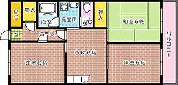 第3旭東ビル[702号室]の間取り