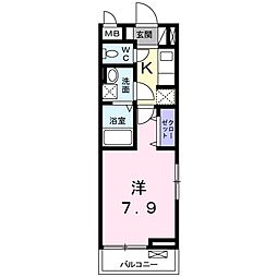 ORION(オリオン)[3階]の間取り