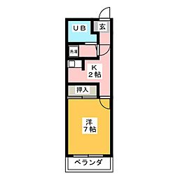 TO BE[5階]の間取り
