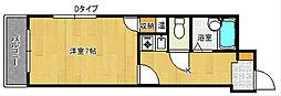 Cielo Mare 東粉浜II[3階]の間取り