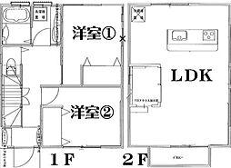 [一戸建] 神奈川県横浜市南区中島町4丁目 の賃貸【神奈川県 / 横浜市南区】の間取り