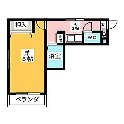 アビニヨン千種[2階]の間取り