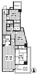 ヴェルデュール大倉山[301号室]の間取り