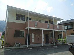 広島県広島市安佐北区可部東2丁目の賃貸アパートの外観