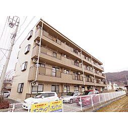 長野県諏訪市沖田町の賃貸アパートの外観