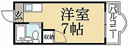 レスポアールオオニシ[3階]の間取り