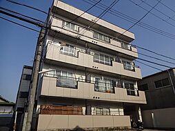 大阪府大阪市東住吉区住道矢田4丁目の賃貸マンションの外観