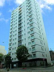 北海道札幌市豊平区平岸二条6丁目の賃貸マンションの外観