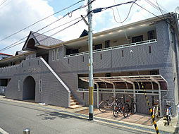 大阪府茨木市下穂積2丁目の賃貸アパートの外観