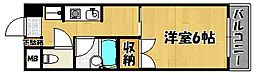兵庫県明石市小久保2の賃貸マンションの間取り