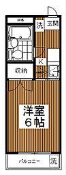タニーハイツ[3階]の間取り