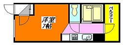 清洲プラザ高井田[4階]の間取り