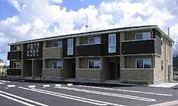 鹿児島県南さつま市加世田村原4丁目の賃貸アパートの外観