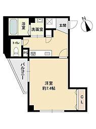 オードリーハウス[1階]の間取り