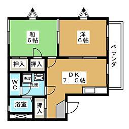 カプリコーン[2階]の間取り