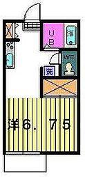 プチハウス[1階]の間取り