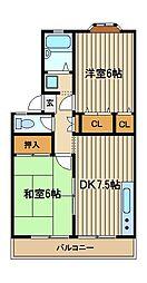 ドリームハイツII[2階]の間取り