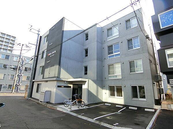 北海道札幌市厚別区厚別中央四条5丁目の賃貸マンションの外観
