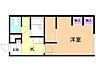 間取り,1K,面積23.18m2,賃料3.4万円,バス くしろバス西郵便局前下車 徒歩7分,,北海道釧路市鳥取南7丁目2-19