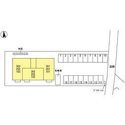 (仮)D-room元町[203号室]の外観