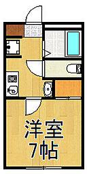 TY大袋[2階]の間取り