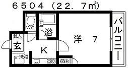 ユーコート21[303号室号室]の間取り