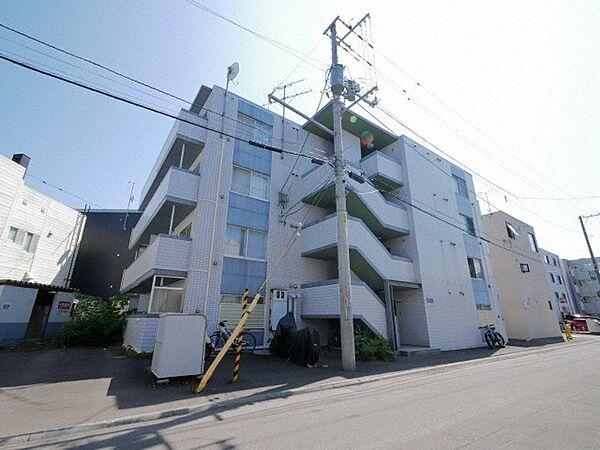 北海道札幌市豊平区平岸四条13丁目の賃貸マンション