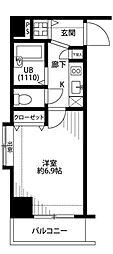 プレール・ドゥーク水天宮II[8階]の間取り