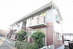 広島県福山市神島町の賃貸アパートの外観