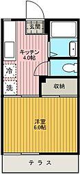 サニーコーポ[103号室]の間取り