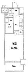 S-RESIDENCE錦糸町パークサイド[2階]の間取り