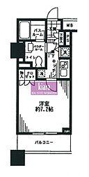 シティタワー横濱[603号室]の間取り