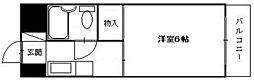 舟入 松尾ビル[3階]の間取り