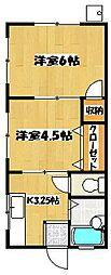エクセレントYOKOSUKA[103号室]の間取り