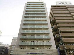 北海道札幌市北区北八条西4丁目の賃貸マンションの外観