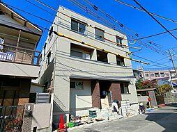 兵庫県西宮市甲子園浦風町の賃貸アパートの外観